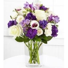 Gül ve Kır Çiçekleri Aranjmanı