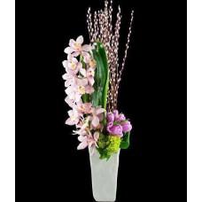 Cymbidium Orkide Aranjmanı