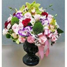 Renkli Çiçekler Aranjmanı